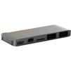 USB-хаб HyperDrive Hub GN21C (серый) - USB HUBUSB HUB<br>USB Хаб, пассивный, количество портов: 5 (2хUSB, microSDXC, Mini DisplayPort, USB-C). Порт Mini DisplayPort обеспечит поддержку разрешения 4K при частоте в 60 Гц. Материал корпуса: алюминий, подключение при помощи USB Type C. Данная модель рассчитана в первую очередь для MacBook 12.<br>