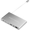 USB-хаб HyperDrive Ultimate GN30B (серый) - USB HUBUSB HUB<br>USB Хаб, пассивный, количество портов: 11 (USB-C с питанием, VGA, HDMI, Mini DisplayPort, Gigabit Ethernet, 3xUSB, SD, microSD, minijack 3.5 mm). Материал корпуса: алюминий, подключение при помощи USB Type C.<br>