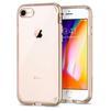Чехол-накладка для Apple iPhone 7, 8 (Spigen Neo Hybrid Crystal 2 054CS22366) (шампань) - Чехол для телефонаЧехлы для мобильных телефонов<br>Обеспечит защиту телефона от царапин, потертостей и других нежелательных внешних воздействий.<br>
