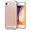 Чехол-накладка для Apple iPhone 7, 8 (Spigen Neo Hybrid Herringbone 054CS22202) (бежевый) - Чехол для телефонаЧехлы для мобильных телефонов<br>Обеспечит защиту телефона от царапин, потертостей и других нежелательных внешних воздействий.<br>
