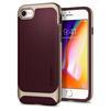 Чехол-накладка для Apple iPhone 7, 8 (Spigen Neo Hybrid Herringbone 054CS22198) (бургунди) - Чехол для телефонаЧехлы для мобильных телефонов<br>Обеспечит защиту телефона от царапин, потертостей и других нежелательных внешних воздействий.<br>