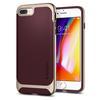 Чехол-накладка для Apple iPhone 7 Plus, 8 Plus (Spigen Neo Hybrid Herringbone 055CS22228) (бургунди) - Чехол для телефонаЧехлы для мобильных телефонов<br>Обеспечит защиту телефона от царапин, потертостей и других нежелательных внешних воздействий.<br>