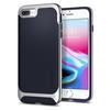 Чехол-накладка для Apple iPhone 7 Plus, 8 Plus (Spigen Neo Hybrid Herringbone 055CS22229) (серебристый) - Чехол для телефонаЧехлы для мобильных телефонов<br>Обеспечит защиту телефона от царапин, потертостей и других нежелательных внешних воздействий.<br>