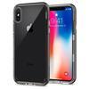 Чехол-накладка для Apple iPhone X (Spigen Neo Hybrid Crystal 057CS22172) (стальной) - Чехол для телефонаЧехлы для мобильных телефонов<br>Удобный и компактный чехол, обеспечит защиту от негативных внешних воздействий.<br>