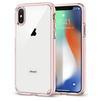 Чехол-накладка для Apple iPhone X (Spigen Ultra Hybrid 057CS22128) (кристально-розовый) - Чехол для телефонаЧехлы для мобильных телефонов<br>Защитит смартфон от грязи, пыли, брызг и других внешних воздействий.<br>