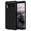 Чехол-накладка для Samsung Galaxy Note 8 (Spigen Hybrid Armor 587CS22075) (черный) - Чехол для телефонаЧехлы для мобильных телефонов<br>Удобный и компактный чехол, обеспечит защиту смартфона от нежелательных внешних воздействий.<br>