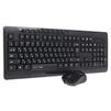 Qumo Omega К27/М27 - Мыши и КлавиатурыМыши и Клавиатуры<br>Набор клавиатура+мышь Qumo Omega К27/М27 - клавиатура К27 беспроводная, мышь М27 - 800/1200/1600, беспроводная, 1 - АА, 2 - ААА.<br>