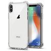 Чехол-накладка для Apple iPhone X (Spigen Rugged Crystal 057CS22117) (кристально-прозрачный) - Чехол для телефонаЧехлы для мобильных телефонов<br>Защитит смартфон от грязи, пыли, брызг и других внешних воздействий.<br>