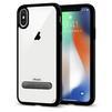 Чехол-накладка для Apple iPhone X (Spigen Ultra Hybrid S 057CS22134) (ультра-черный) - Чехол для телефонаЧехлы для мобильных телефонов<br>Обеспечит защиту устройства от ударов и падений.<br>
