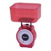 HOMESTAR HS-3004М (красный) - Кухонные весыКухонные весы<br>Механические кухонные весы, чаша для продуктов, нагрузка до 1 кг, точность измерения 20 г, измерение объема.<br>