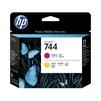 Печатающая головка для HP DesignJet Z2600 PostScript, Z5600 PostScript (HP 744) (пурпурный, желтый) - Картридж для принтера, МФУКартриджи<br>Совместима с моделями: HP DesignJet Z2600 PostScript 24, Z5600 PostScript 44.<br>