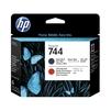 Печатающая головка для HP DesignJet Z2600 PostScript, Z5600 PostScript (HP 744) (матовый черный, хроматический красный) - Картридж для принтера, МФУКартриджи<br>Совместима с моделями: HP DesignJet Z2600 PostScript 24, Z5600 PostScript 44.<br>