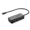 Переходник USB 3.1 Type-C - RJ-45 (Greenconnect GCR-UC2CL01) (черный) - Usb, hdmi кабель, переходникUSB-, HDMI-кабели, переходники<br>Адаптер может не только добавить сетевой интерфейс к компьютеру с помощью USB 3.1 Type C порта, а также подключить несколько устройств, такие как цифровая камера, flash-накопитель, клавиатура и т.п. к вашему ПК или ноутбуку, имеющему разъем USB 3.1 Type C.<br>