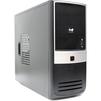 InWin EAR-003BG 450W Black-Silver - КорпусКорпуса<br>Корпус Midi-Tower, блок питания 450Вт (модель RB-S450HQ7-0), 2хUSB 2.0, выход на наушники/микрофон.<br>