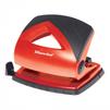 Silwerhof SHARK (391018-36) (красный) - ДыроколДыроколы<br>Silwerhof SHARK - дырокол, толщина прокола: 20 листов, линейка, 2 отверстия, пластик.<br>