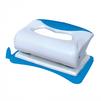 Silwerhof DOUBLE WAVE (391001-02) (серый, синий) - ДыроколДыроколы<br>Silwerhof DOUBLE WAVE - дырокол, толщина прокола: 10 листов, форматная линейка, 2 отверстия, пластик.<br>