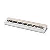 Casio PX-160 (белый) - Синтезатор, миди-клавиатураСинтезаторы и миди-клавиатуры<br>Casio PX-160 - цифровое пианино, взвешенная клавиатура c 88 клавишами, педали подключаемые, компактный корпус, встроенная акустика, тембров: 18, обучение, USB.<br>