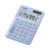 Калькулятор настольный Casio MS-20UC-LB-S-EC (светло-голубой) - КалькуляторКалькуляторы<br>Калькулятор настольный Casio MS-20UC-RG-S-EC - дисплей 12 разрядов, комбинированное питание, крупные цифры и кнопки, операции с процентами, клавиша 00, корректировка вводимого числа, смена знака.<br>