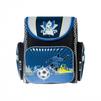 Silwerhof Sport (черный, синий, футболист) - Ранец, рюкзак, сумка, папкаРанцы, рюкзаки, сумки<br>Silwerhof Sport - ранец для мальчиков, полиэстер, формат вмещаемых документов А4, светоотражающие материалы, карабин для ключей, ручка для переноски, 28x32x13см, рисунок Футболист.<br>