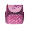 Silwerhof FLOWERS (розовый, фиолетовый,  цветы) - Ранец, рюкзак, сумка, папкаРанцы, рюкзаки, сумки<br>Silwerhof FLOWERS - ранец для девочек, полиэстер, формат вмещаемых документов А4, светоотражающие материалы, карабин для ключей, ручка для переноски, 28x32x13см , рисунок цветы.<br>
