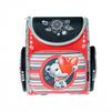 Ранец Silwerhof (красный, черный, белый, мишка) - Ранец, рюкзак, сумка, папкаРанцы, рюкзаки, сумки<br>Ранец Silwerhof - ранец для девочек, полиэстер, формат вмещаемых документов А4, светоотражающие материалы, карабин для ключей, ручка для переноски, 28x32x13см, рисунок мишка.<br>