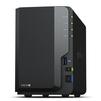 Synology DS218+ - Жесткие дискиЖесткие диски<br>2 отсека для 2.5/3.5 SSD/HDD SATA, процессор Intel Celeron J3355, память 2 GB DDR3L.<br>
