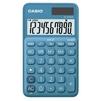 Casio SL-310UC-BU-S-EC (синий) - КалькуляторКалькуляторы<br>Карманный калькулятор, размеры 70x8.4x118 мм, 10-разрядный, корректировка вводимого числа.<br>