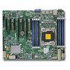 SUPERMICRO MBD-X10SRL-F-B (Bulk) - Материнская платаМатеринские платы<br>Cерверная материнская плата, форм-фактор ATX, сокет LGA2011-3, чипсет Intel C612 Express, тип оперативной памяти DDR4 до 512 Гб, частота памяти 1333-2133 МГц, порты 4x USB 3.0, 8x USB 2.0 порта.<br>