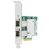 HPE 727055-B21 - Сетевая картаСетевые карты и адаптеры<br>Сетевая карта HP Enterprise 562SFP+ 727055-B21 поддерживает подключение на скорости 10 Гб/с, имеет 2 сетевых разъема SFP+, тип шины подключения PCI Express x8.<br>