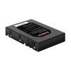 Exegate EX264648RUS (черный) - Корпус, док-станция для жесткого дискаКорпуса и док-станции для жестких дисков<br>Переходник для использования 2.5 HDD в отсек 3.5, материал сталь/пластик.<br>