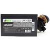 AirMax AK-450W - Блок питанияБлоки питания<br>Блок питания, 450 Вт, ATX, 24+4+6 пин, 120 мм, защита от короткого замыкания (SCP), защита от подачи пониженного и повышенного напряжения (UVP/OVP), защита от перегрузки по току (OCP), ATX 12V v.2.3, 1 вентилятор 120x120, выключатель, коннектор питания видеокарт 6+2.<br>