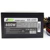 AirMax AK-600W - Блок питанияБлоки питания<br>Блок питания, 600 Вт, ATX, 24+4+6 пин, 120 мм, защита от короткого замыкания (SCP), защита от подачи пониженного и повышенного напряжения (UVP/OVP), защита от перегрузки по току (OCP), ATX 12V v.2.3, 1 вентилятор 120x120, выключатель, коннектор питания видеокарт 2 x 6+2.<br>