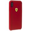 Чехол-накладка для Apple iPhone X (Ferrari On-Track SF FESSIHCPXRE) (красный) - Чехол для телефонаЧехлы для мобильных телефонов<br>Обеспечит надежную защиту Вашего мобильного устройства от повреждений, загрязнений и других нежелательных воздействий.<br>