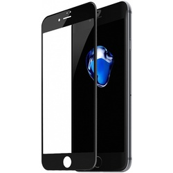 Защитное стекло для Apple iPhone 7 Plus, 8 Plus (Baseus Silk-screen 3D Arc SGAPIPH8P-A3D01) (черный)