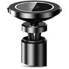 Автомобильный держатель Baseus Big Ears Car Mount Wireless Charger WXER-01 (черный)  - Автомобильный держатель для телефонаАвтомобильные держатели для мобильных телефонов<br>Автомобильный держатель для смартфонов, крепление: в дефлектор или на торпедо, все порты и разъемы в свободном доступе, материал: алюминий, пластик. Поворотный механизм: 360 градусов, функция беспроводной зарядки QI.<br>