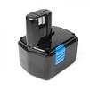 Аккумулятор для инструмента Hitachi (14.4V 1.5Ah) (TOP-PTGD-HIT-14.4(B)) - АккумуляторАккумуляторы для инструмента<br>Аккумулятор, напряжение  14.4 В, емкость  1.5 Ач, химический состав: Ni-Cd. Совместимые модели: 315128, 315130, 324367, EB1412S, EB1414, EB1414L, EB1414S, EB1420RS, EB1424, EB1426H, EB1430H, EB1430R, EB14B, EB14H, EB14S, EB1430X, BCC1415, BCC1412.<br>