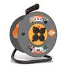Силовой удлинитель UNIVersal ВЕМ-250 IP-44 (ПВС, шнур 50м, розеток 4)  - Сетевой фильтрСетевые фильтры<br>Силовой удлинитель на катушке, количество розеток: 4 шт, максимальная нагрузка 3500 Вт, степень защиты: IP44, номинальная сила тока: 16 А, тип провода: ПВС, сечение провода: 3х2.5, длина кабеля: 50 м, материал: латунь, заземление: есть, напряжение в сети: 220/250 В, частота тока: 50 Гц, условия эксплуатации: от +1 до +35 °С, при относительной влажности не более 80 %.<br>