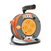 Силовой удлинитель UNIVersal У6-014 (ПВС, шнур 20м, розеток 4)  - Сетевой фильтрСетевые фильтры<br>Силовой удлинитель на катушке, количество розеток: 4 шт, максимальная нагрузка 1300 Вт, номинальная сила тока: 6 А, тип провода: ПВС, сечение провода: 2х0.75, длина кабеля: 20 м, материал: латунь, напряжение в сети: 220/250 В, частота тока: 50 Гц, условия эксплуатации: от +1 до +35 °С, при относительной влажности не более 80 %.<br>