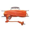 Сетевой удлинитель UNIVersal УШ-6 IP-54 (ПВС, шнур 50м, розеток 1) (оранжевый) - Сетевой фильтрСетевые фильтры<br>Сетевой удлинитель на рамке, количество розеток: 1 шт, максимальная нагрузка 1300 Вт, номинальная сила тока: 6 А, тип провода: ПВС, сечение провода: 2х0.75, длина кабеля: 50 м, материал: латунь, напряжение в сети: 220/250 В, частота тока: 50 Гц, условия эксплуатации: от +1 до +35 °С, при относительной влажности не более 80 %.<br>