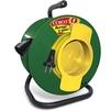 Силовой удлинитель ТМ Союз 481S-2105 (ПВС, шнур 50м, розеток 1)  - Сетевой фильтрСетевые фильтры<br>Силовой удлинитель на катушке, количество розеток: 1 шт, максимальная нагрузка 1300 Вт, номинальная сила тока: 6 А, тип провода: ПВС, сечение провода: 2х0.75, длина кабеля: 50 м, материал: ударопрочный пластик.<br>