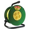 Силовой удлинитель ТМ Союз 481S-3103 (ПВС, шнур 30м, розеток 4)  - Сетевой фильтрСетевые фильтры<br>Силовой удлинитель на катушке, количество розеток: 4 шт, максимальная нагрузка 1300 Вт, номинальная сила тока: 6 А, тип провода: ПВС, сечение провода: 2х0.75, длина кабеля: 30 м, материал: ударопрочный пластик.<br>