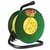 Силовой удлинитель ТМ Союз 481S-3605 (ПВС, шнур 50м, розеток 4)  - Сетевой фильтрСетевые фильтры<br>Силовой удлинитель на катушке, количество розеток: 4 шт, максимальная нагрузка 3700 Вт, номинальная сила тока: 16 А, тип провода: ПВС, сечение провода: 3х1.5, длина кабеля: 50 м, заземление: есть, материал: ударопрочный пластик.<br>