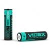 Аккумулятор Videx 18650 2200mAh (VID-18650-2.2-WP) - Батарейка, аккумуляторБатарейки и аккумуляторы<br>Аккумулятор предназначен для использования в переносных фонариках, в беспроводных электрических инструментах и медицинских приборах, как элемент в переносных зарядных устройствах и в аккумуляторных батареях ноутбуков, в малогабаритных транспортных средствах. Отличается низким уровнем саморазряда, отсутствием эффекта памяти и высокой энергетической плотностью. Напряжение: 3.7 В. Защита от перезаряда и переразряда.<br>