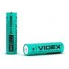 Аккумулятор Videx 18650 2200mAh (VID-18650-2.2-NP) - Батарейка, аккумуляторБатарейки и аккумуляторы<br>Аккумулятор предназначен для использования в переносных фонариках, в беспроводных электрических инструментах и медицинских приборах, как элемент в переносных зарядных устройствах и в аккумуляторных батареях ноутбуков, в малогабаритных транспортных средствах. Отличается низким уровнем саморазряда, отсутствием эффекта памяти и высокой энергетической плотностью. Напряжение: 3.7 В.<br>