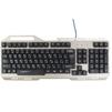 Qumo ReaL SteeL K05 - КлавиатураКлавиатуры<br>Qumo ReaL SteeL K05 - клавиатура, проводная, игровая, USB, металл, 104 клавиши, встроенная радужная подсветка<br>