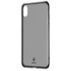 Чехол-накладка для Apple iPhone X (Baseus Simple Series Anti-Fall ARAPIPHX-C01) (черный) - Чехол для телефонаЧехлы для мобильных телефонов<br>Обеспечит надежную защиту Вашего мобильного устройства от повреждений, загрязнений и других нежелательных воздействий.<br>