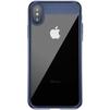 Чехол-накладка для Apple iPhone X (Baseus Suthin ARAPIPHX-SB15) (темно-синий) - Чехол для телефонаЧехлы для мобильных телефонов<br>Обеспечит надежную защиту Вашего мобильного устройства от повреждений, загрязнений и других нежелательных воздействий.<br>