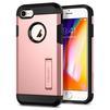 Чехол-накладка для Apple iPhone 7, 8 (Spigen Tough Armor 2 054CS22215) (розовое золото) - Чехол для телефонаЧехлы для мобильных телефонов<br>Защитит смартфон от грязи, пыли, брызг и других внешних воздействий.<br>