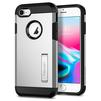 Чехол-накладка для Apple iPhone 7, 8 (Spigen Tough Armor 2 054CS22217) (серебристый) - Чехол для телефонаЧехлы для мобильных телефонов<br>Защитит смартфон от грязи, пыли, брызг и других внешних воздействий.<br>