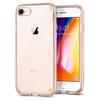 Чехол-накладка для Apple iPhone 7, 8 (Spigen Neo Hybrid Crystal 2 054CS22569) (золотистый) - Чехол для телефонаЧехлы для мобильных телефонов<br>Обеспечит защиту телефона от царапин, потертостей и других нежелательных внешних воздействий.<br>